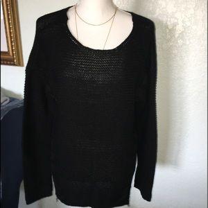 ANA SWEATER  BLACK. Size L
